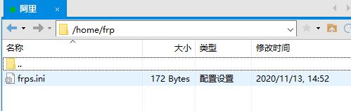 配置文件放到刚刚创建的文件夹里